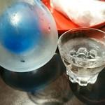 44462473 - 【2015.11.14(土)】日本酒(冷酒・赤城山)@500