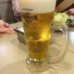 串カツ田中 - 生ビール