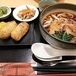 めん処きしめん亭 - 稲荷定食900円