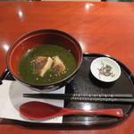 麻布茶房 - 抹茶田舎しるこ(粒あん)