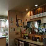 菊丸 - 店内 (カウンター席)