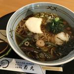 菊丸 - 山菜おろし (温・蕎麦) 980円