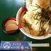 川なべ - 料理写真:塩海老天丼(税込み972円)