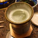 割烹 天ぷら 三太郎 - ふぐ白子酒♡