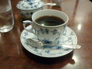 椿屋珈琲店 上野茶廊 - 浅煎りブレンド