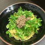 ビリ丸 - パクチー汁無坦々麺