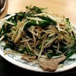 龍華 - 料理写真:肉ニラ炒め定食