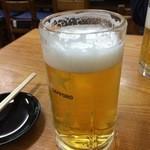 細雪 - ビール 580円