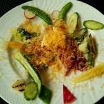 パンチーニ横浜 - パルマ産生ハムのサラダ