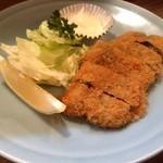 伊豆浜 - アジ梅フライ680円
