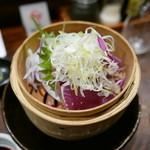 京 泰山木 - ヨコワ 藁燻製