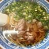 そば処 山科 - 料理写真:鴨ちゅう780円 麺少な目もスープは美味しい