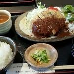 44476021 - ビフカツ定食