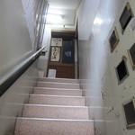 ふじ波 - 2階への階段