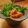 伝吉山 - 料理写真:鮭のチャンジャ 辛さが強めでおいしかったー^^