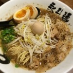 永斗麺 - サンマ醤油煮玉子トッピン
