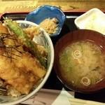 むら田 - 穴子丼定食