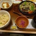 ガスト - 料理写真:牡蠣あんかけ焼きそば牡蠣フライ
