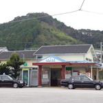 風工房 - (おまけ)JR土讃線・土佐久礼駅。小さなローカル駅だが特急が停まる。地域にとって大事な駅だ