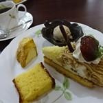 アルプス洋菓子店 - 料理写真:2015.11