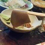 南部民芸料理 蔵 - 「そばカッケ (1000円)」は、そば粉の風味をストレートに感じられますね♪
