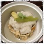 和洋菜彩 花もみじ - 香箱蟹の蓮蒸し。上品なお味!