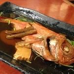 阿波水産 - H.27.6.5.夜 高知産金目鯛煮付け 680円