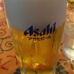タージマハル エベレスト - ビール(490円)。