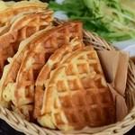 デッキカフェ - 料理写真:ワッフル食べ放題
