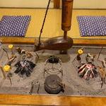 民宿やま久 - 料理写真:囲炉裏