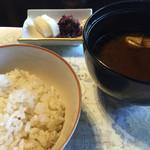 太閤園 別館 - ご飯