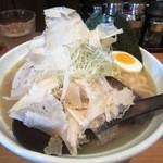 44484464 - 鶏白湯 白醤油ラーメン(麺大盛)