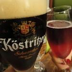 つばめグリル - ドイツ黒とカクテルで乾杯!