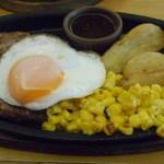 サイゼリヤ - ハンバーグステーキ