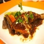 サクラカフェ&レストラン 池袋 - 一等食堂のリヨン風チキンソテー (880円 )