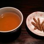 三國家 - そばかりんとう&そば茶