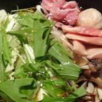 ニワトリ マーケット - 鶏すき(黒)のアップ写真