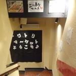 ニワトリ マーケット - 地下1Fがお店