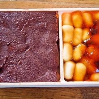 沼の家 - 料理写真:大沼だんご 小折(あん、醤油)
