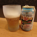 四川家庭料理 珍々 - まさかのノンアルビール(390円)