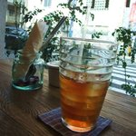 Kunitachi Tea House - 最初のアイスティー