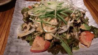 地鶏酒肴庵 ハナタレ - ハナタレサラダ