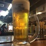 そば玉や - 生ビール…❤️❤️❤️