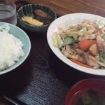 44490692 - 野菜炒め定食
