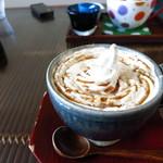 甘味かふぇ ばりや - 黒みつコーヒー!ざんしーん♪