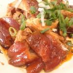 老牌張豬腳飯 - 豚足(もも肉)