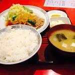 こけし - 料理写真:生姜焼き定食