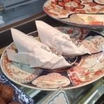 三澤屋茶屋 - あぶない~、「岩魚サンド (540円)」がラス2でした!