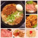 麺ジャラスK - 再訪♪ 夜分に食べすぎちゃった〜 (*^o^*)
