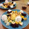 Hidamari - 料理写真:4回目、いつものフワトロフレンチトースト、食べたかったから嬉しかったー!